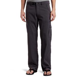 PrAna Zion Stretch Pant Roll Up in Charcoal Sz L